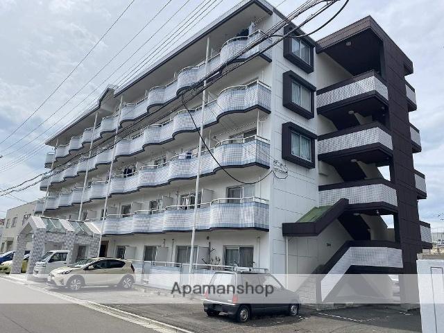 宮城県仙台市若林区、六丁の目駅徒歩6分の築27年 5階建の賃貸マンション