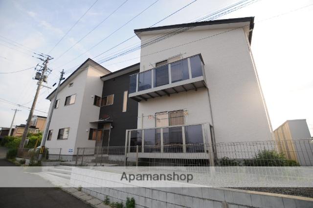 宮城県遠田郡美里町、小牛田駅徒歩5分の築2年 2階建の賃貸アパート