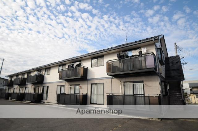 宮城県遠田郡美里町、小牛田駅徒歩4分の築20年 2階建の賃貸アパート