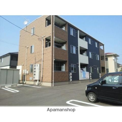 宮城県多賀城市、多賀城駅徒歩15分の築3年 3階建の賃貸アパート