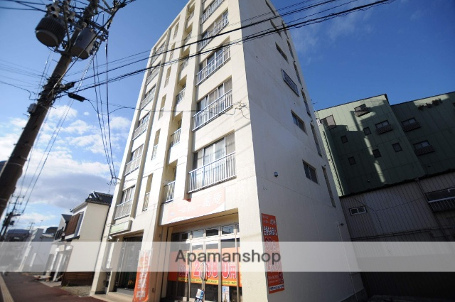 宮城県塩竈市、西塩釜駅徒歩9分の築33年 7階建の賃貸マンション