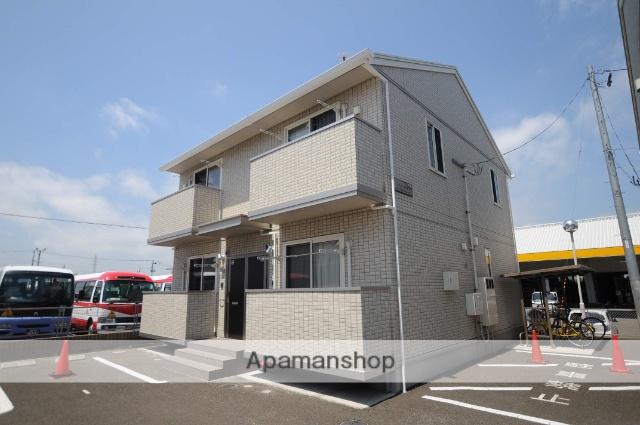 宮城県塩竈市、東塩釜駅徒歩16分の築4年 2階建の賃貸アパート