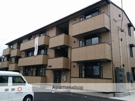 宮城県多賀城市、多賀城駅徒歩8分の築1年 3階建の賃貸アパート