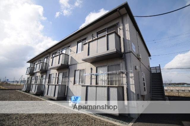 宮城県多賀城市、新利府駅徒歩24分の築13年 2階建の賃貸アパート