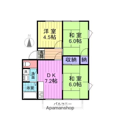 宮城県仙台市宮城野区、陸前高砂駅徒歩21分の築22年 2階建の賃貸アパート