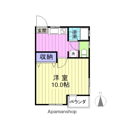 宮城県仙台市宮城野区、福田町駅徒歩16分の築21年 2階建の賃貸アパート