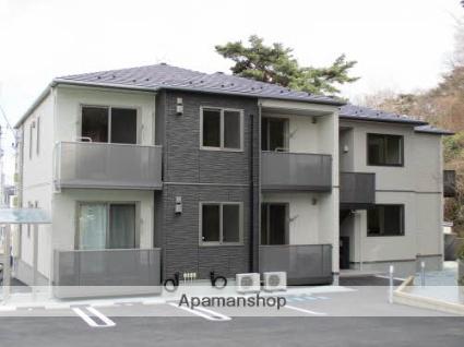宮城県塩竈市、本塩釜駅徒歩20分の新築 2階建の賃貸アパート