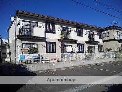 宮城県塩竈市、西塩釜駅徒歩25分の築24年 2階建の賃貸アパート