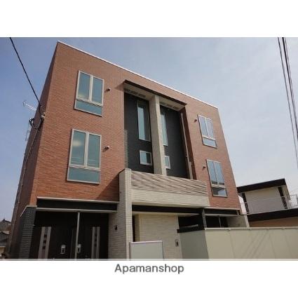 宮城県多賀城市、中野栄駅徒歩29分の築3年 3階建の賃貸アパート
