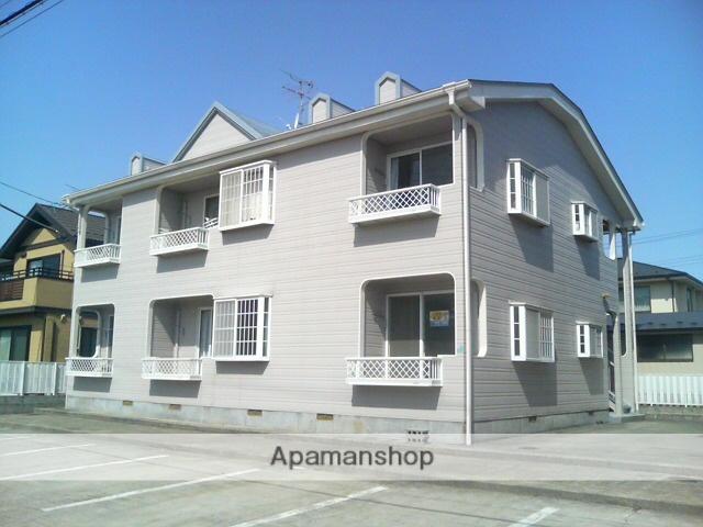 宮城県黒川郡大和町の築23年 2階建の賃貸アパート