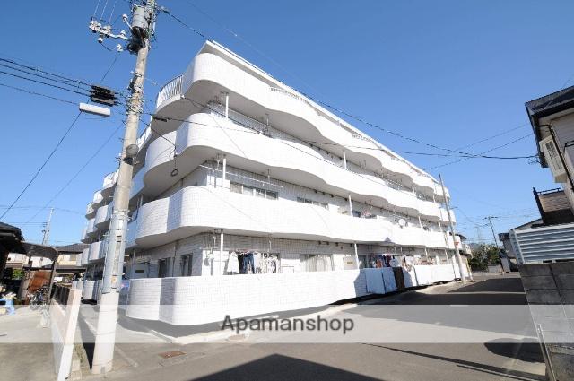宮城県仙台市宮城野区、中野栄駅徒歩7分の築28年 4階建の賃貸マンション