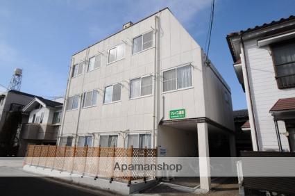 宮城県仙台市若林区、仙台駅徒歩19分の築29年 3階建の賃貸マンション