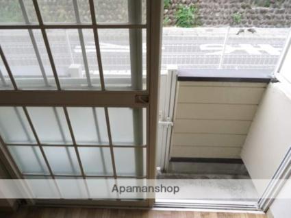 アップルハウス青山1[1K/15.57m2]のバルコニー