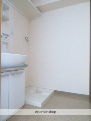 サークル10ビル[1LDK/43.02m2]の洗面所