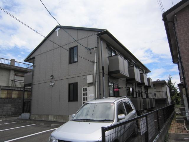 宮城県仙台市青葉区の築16年 2階建の賃貸アパート