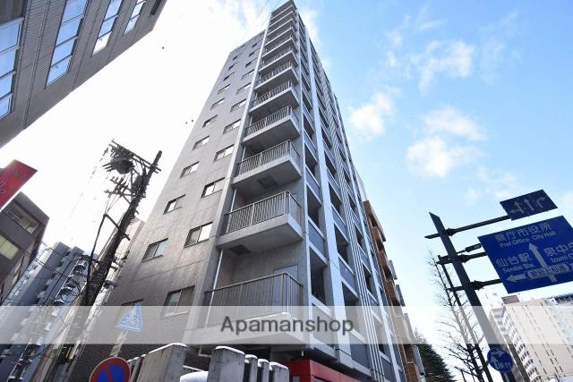 宮城県仙台市青葉区、仙台駅徒歩9分の築8年 13階建の賃貸マンション