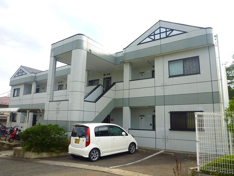 宮城県仙台市青葉区の築20年 2階建の賃貸マンション