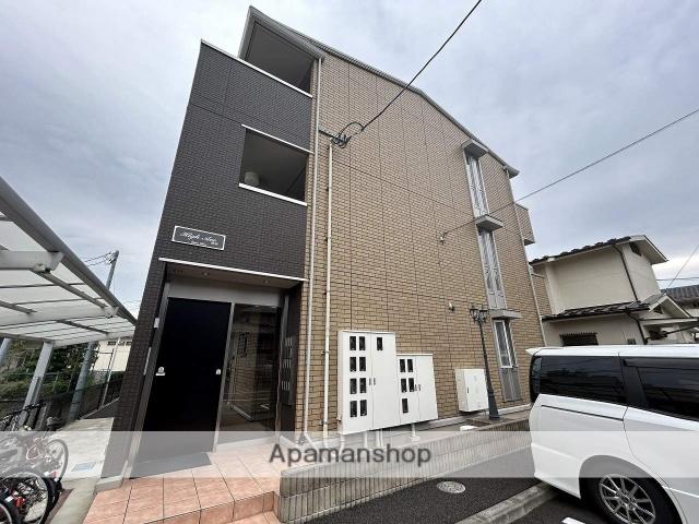 宮城県仙台市青葉区、北仙台駅徒歩15分の築1年 3階建の賃貸アパート