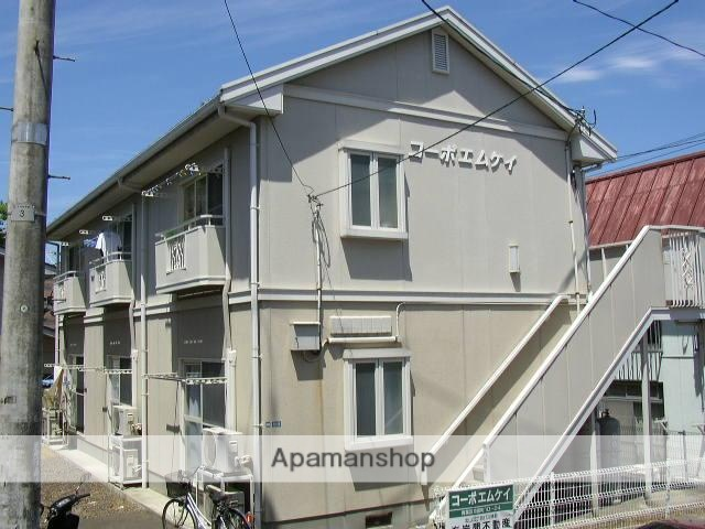 宮城県仙台市青葉区、北山駅徒歩4分の築23年 2階建の賃貸アパート