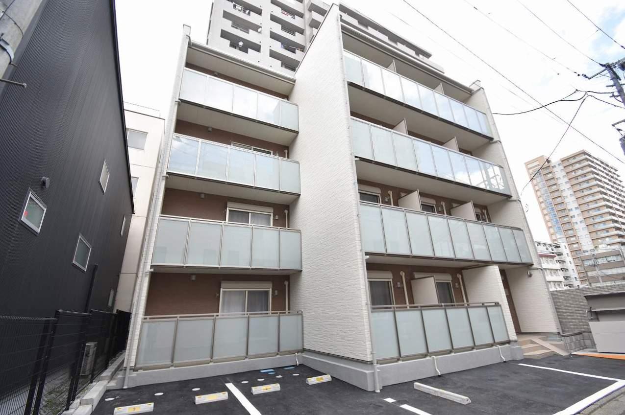 宮城県仙台市青葉区、北四番丁駅徒歩5分の新築 4階建の賃貸マンション