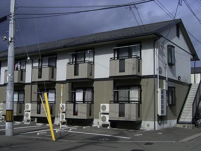 宮城県仙台市若林区、河原町駅徒歩12分の築18年 2階建の賃貸アパート