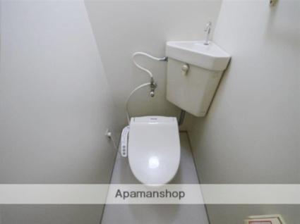 青山パークヒルズA棟[1K/30m2]のトイレ