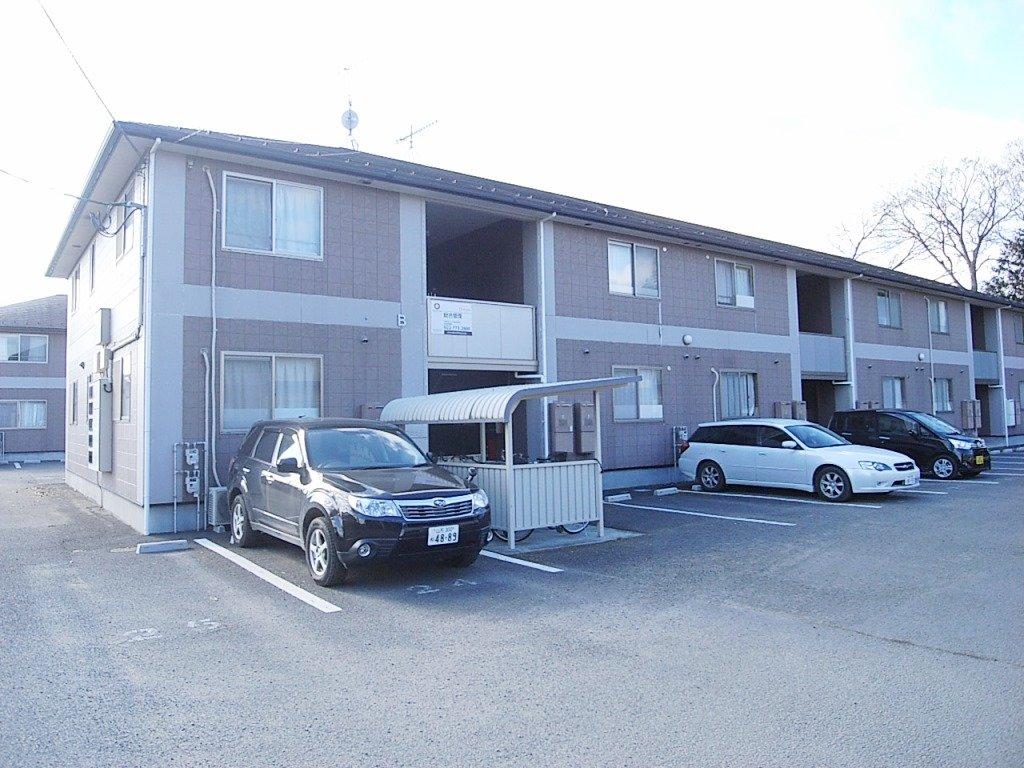 宮城県仙台市太白区、南仙台駅徒歩22分の築13年 2階建の賃貸アパート