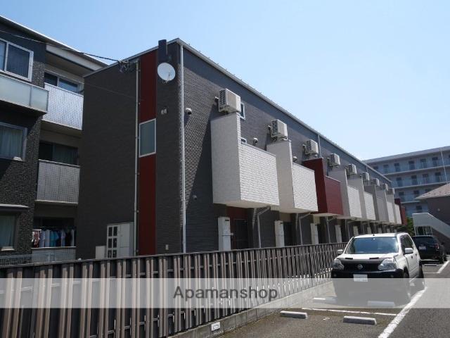 宮城県仙台市若林区、愛宕橋駅徒歩10分の築3年 2階建の賃貸アパート