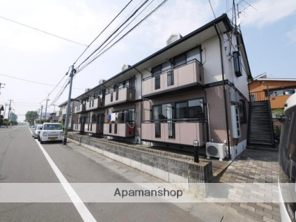 宮城県仙台市若林区の築22年 2階建の賃貸アパート