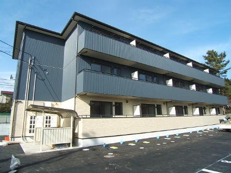 宮城県仙台市太白区、八木山動物公園駅徒歩26分の築9年 3階建の賃貸アパート
