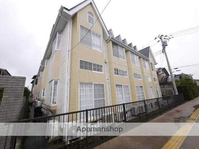 宮城県仙台市若林区、連坊駅徒歩15分の築26年 2階建の賃貸アパート