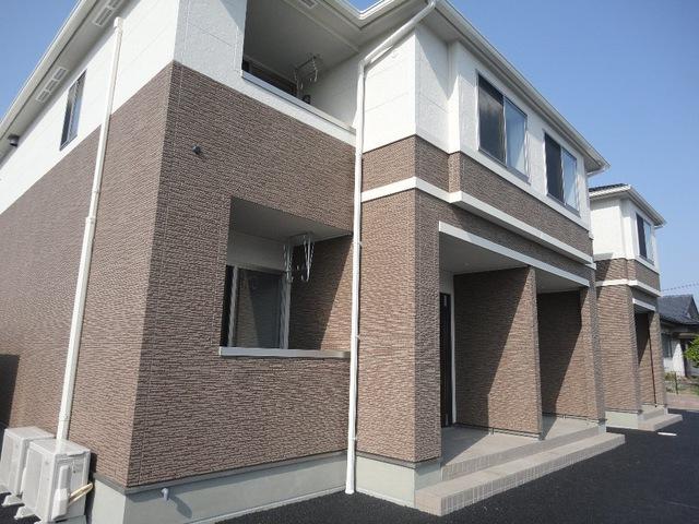 宮城県黒川郡大和町の築1年 2階建の賃貸アパート