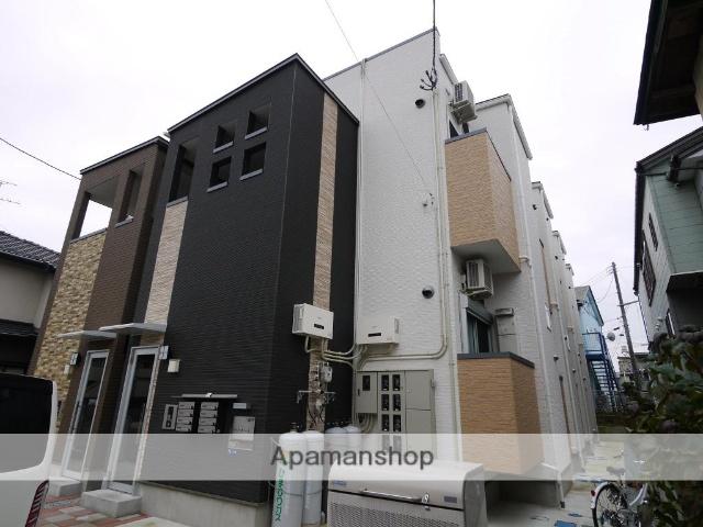宮城県仙台市青葉区、東照宮駅徒歩5分の築1年 2階建の賃貸アパート