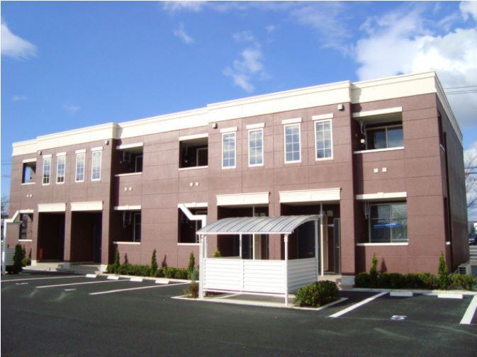 宮城県黒川郡大和町の築6年 2階建の賃貸アパート