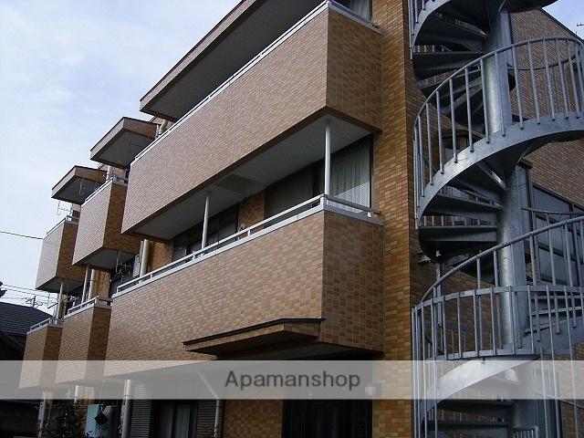 宮城県仙台市若林区、河原町駅徒歩13分の築25年 3階建の賃貸マンション