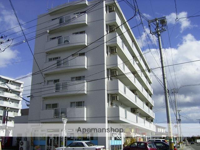 宮城県仙台市若林区、荒井駅徒歩10分の築23年 6階建の賃貸マンション