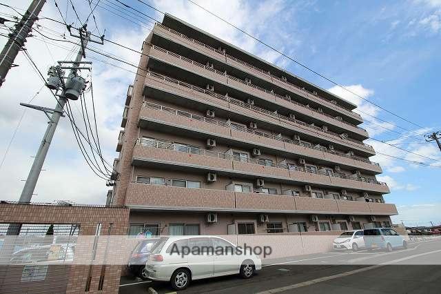 宮城県仙台市宮城野区の築9年 7階建の賃貸マンション