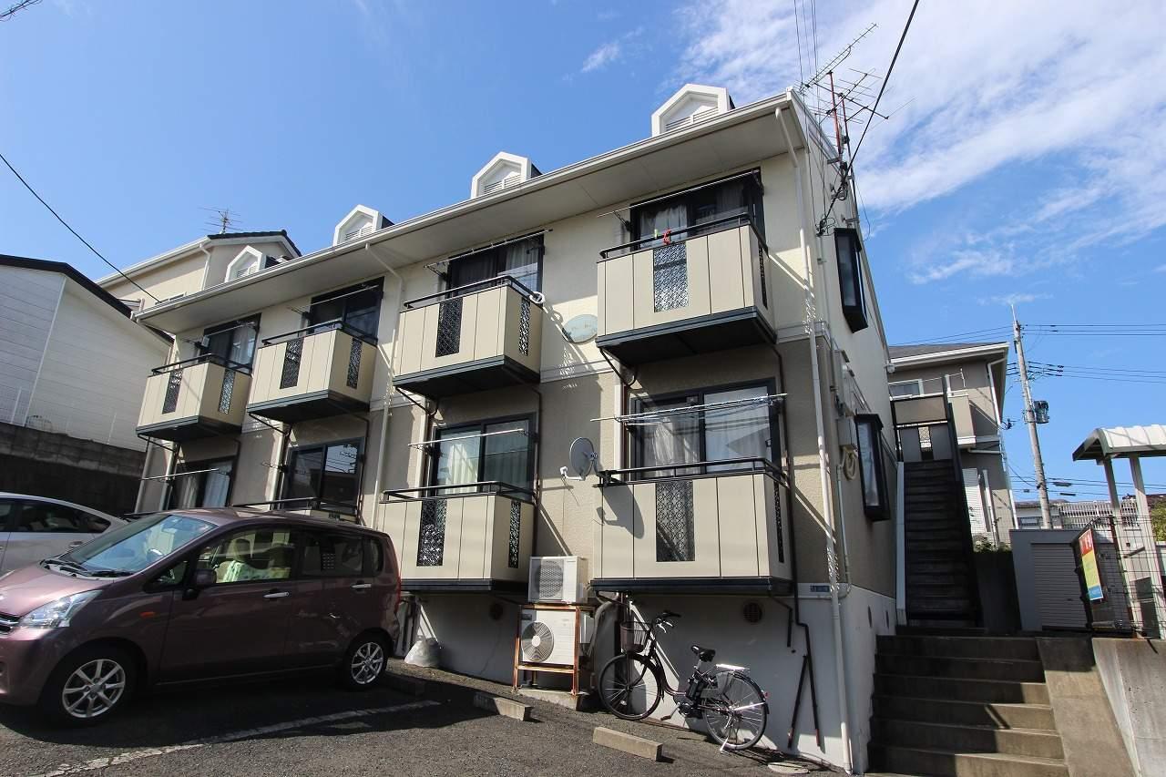 宮城県仙台市太白区、愛宕橋駅徒歩39分の築23年 2階建の賃貸アパート