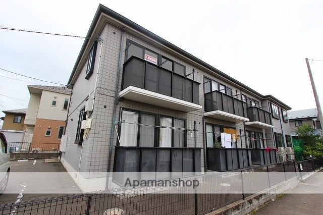 宮城県仙台市若林区、長町駅徒歩40分の築17年 2階建の賃貸アパート