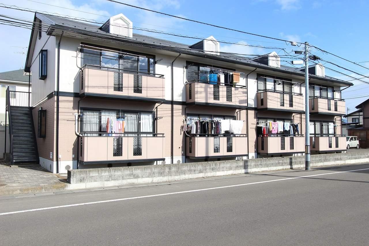 宮城県仙台市若林区の築21年 2階建の賃貸アパート
