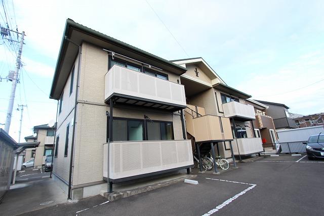 宮城県仙台市若林区、太子堂駅徒歩48分の築14年 2階建の賃貸アパート