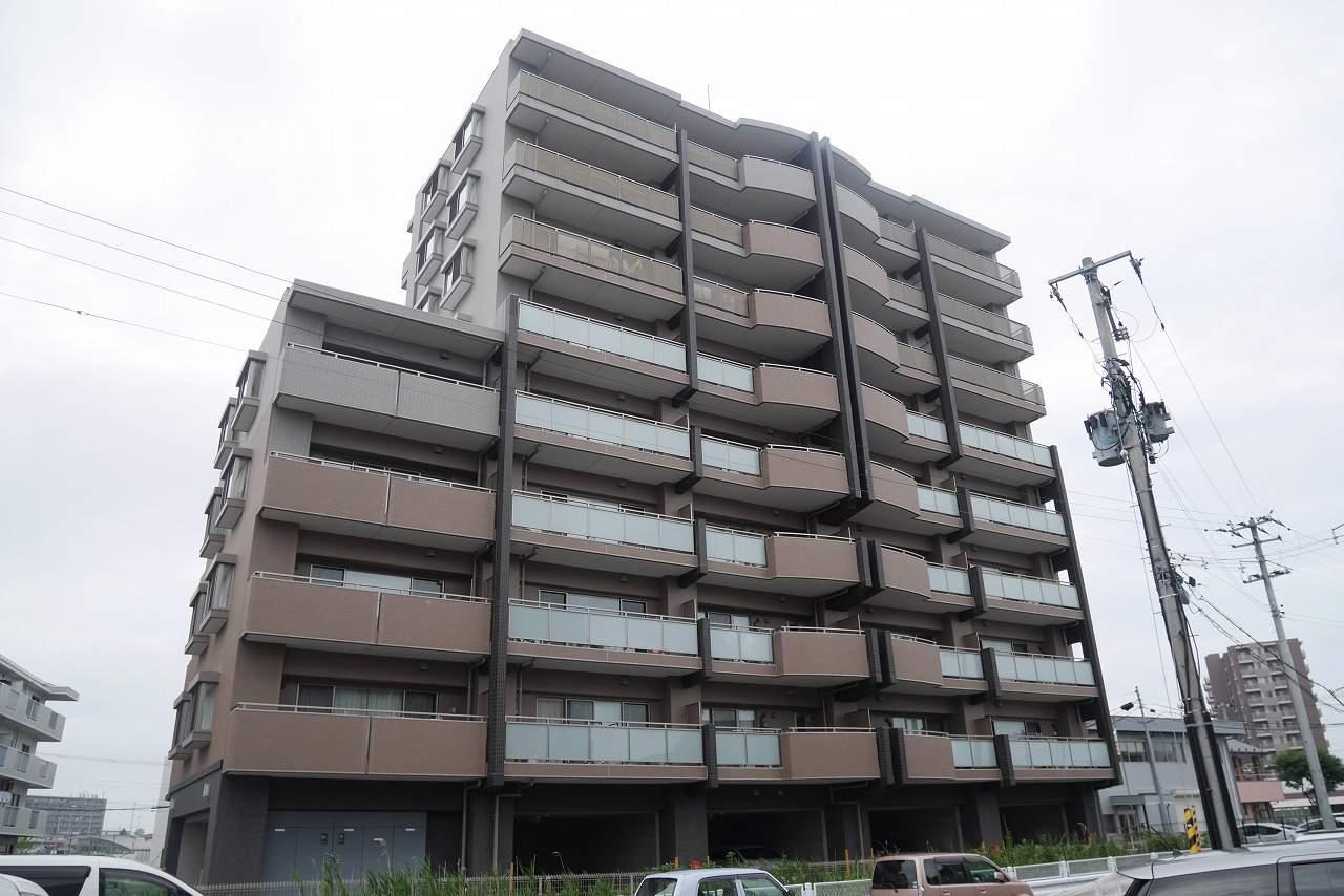 宮城県仙台市若林区、卸町駅徒歩17分の築5年 9階建の賃貸マンション