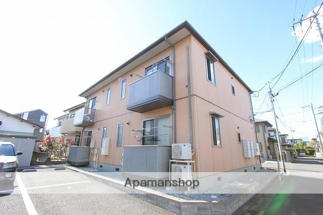 宮城県仙台市若林区の築11年 2階建の賃貸アパート