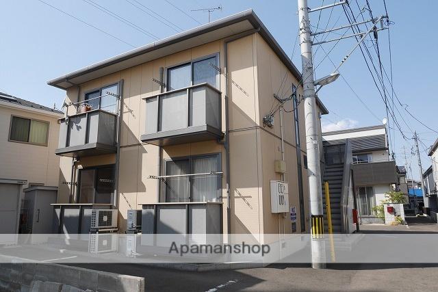 宮城県仙台市若林区、連坊駅徒歩30分の築12年 2階建の賃貸アパート