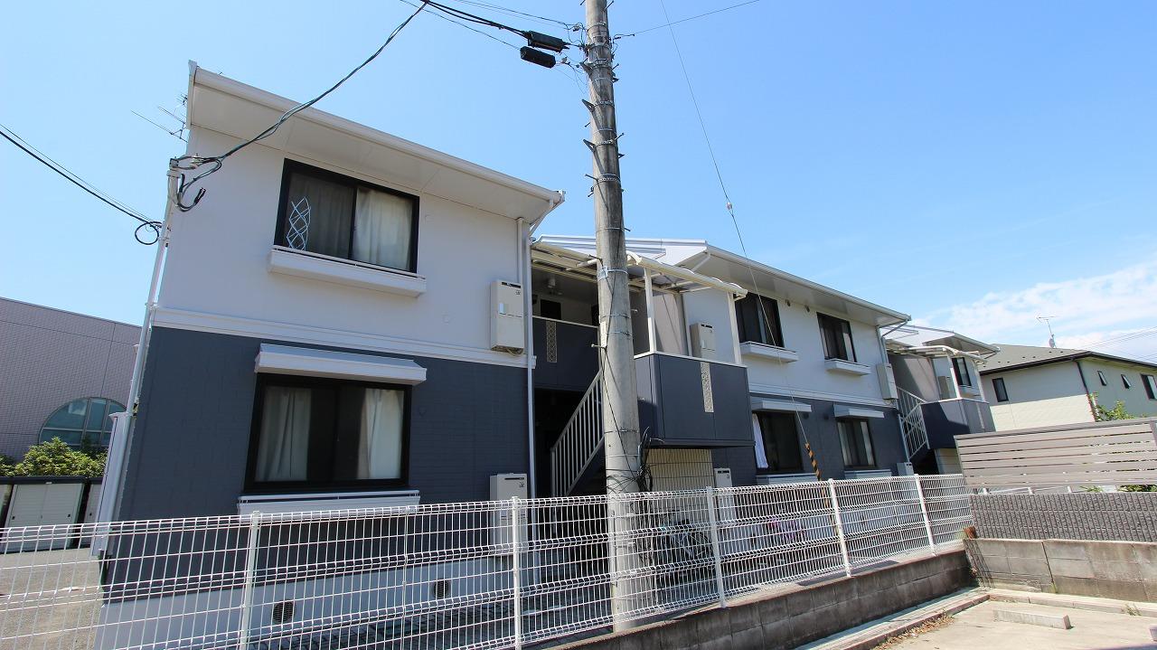 宮城県名取市、南仙台駅徒歩40分の築22年 2階建の賃貸アパート