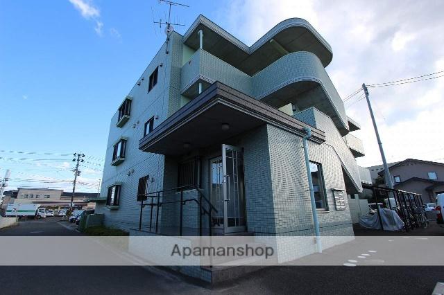 宮城県仙台市若林区、長町駅徒歩40分の築8年 3階建の賃貸マンション
