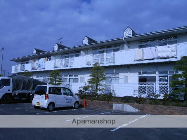 宮城県仙台市若林区の築27年 2階建の賃貸アパート