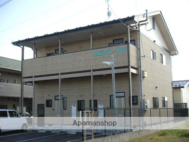 宮城県大崎市の築13年 2階建の賃貸アパート
