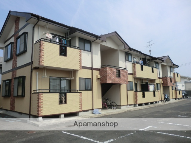宮城県大崎市、西古川駅徒歩3分の築18年 2階建の賃貸アパート