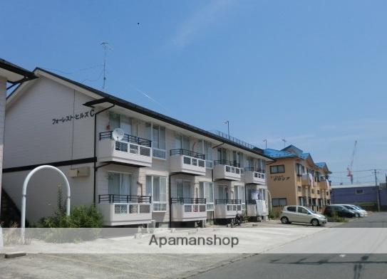 宮城県大崎市の築25年 2階建の賃貸アパート